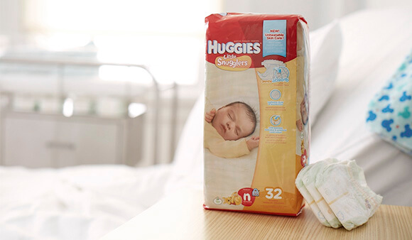 Huggies® Little Snugglers pack